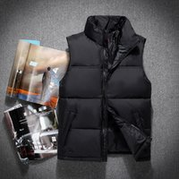 Wholesale Mens Casual Vests - 2018 Classic Brand THE Men Wear Thick Winter Outdoor Heavy Coats Down Jacket mens jackets Clothes s-xxl 60 vest