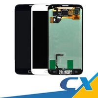 Wholesale Hot Touch Digitizer - Hot High Quality for Samsung Galaxy S5 LCD i9600 G900F G900H G900M G9001 G900R Touch Screen Assembly Display Digitizer with Free DHL