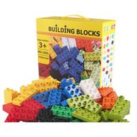 Wholesale Wange Building Blocks - 102Pcs Big Size Bricks Set City DIY Creative Bricks Toy Child Educational Wange Building Block Brick Compatible
