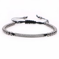 Wholesale Rope Clasp Plastic - Anil Arjandas Men girl Bracelets Micro inlay zircon beads High quality do not fade Free shipping Men Jewlery
