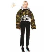 Wholesale Canada Outwear - Canada Women Goose Vetements Down Coats High Quality Women Men Camouflage Both Sides Wear Women Down Jacket Fashion Outwear HFYRF012