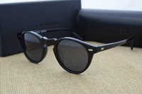 Wholesale Oliver Peoples Frames - Brand Sunglasses-Vintage Men And Women Sunglasses Oliver Peoples 5186 Sun Glasses OV5186 Polarized Gregory Peck Glasses Retro Designer Men