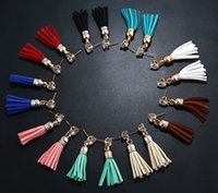 Bohemia Rhinestone Long Tassels Dangle Fringe Stud Earrings Eardrop For Girls Party Charm Jóias Ear Studs 9 Styles B977L