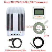 Wholesale Solar Regulator Remote - 2215bN 20A Tracer MPPT Solar Controller With MT-50 Remote Meter, 20AMPS 12V 24V Auto MPPT PV Panel Battery Charge Regulators