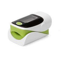 Wholesale New Alarm setting Fingertip Pulse Oximeter Inch OLED Display Auto Power Off Low Voltage Display Color Green