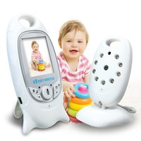 mode vidéo moniteur bébé achat en gros de-Caméra de sécurité sans fil 2.0 pouces couleur bébé moniteur 2 Way Talk NightVision Baba Eletronica Noturna avec 8 berceuses