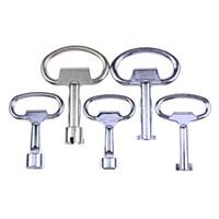 anahtar şeklinde kutu toptan satış-Standart olmayan şekil için 5 adet Tuşları kullanılan çilingir araçları Metre kutusu anahtar BK142