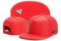 Wholesale Blank Floral Snapback Hat - new fashion blank hats red leather baseball snapback caps for men women brand cap sports hip hop flat sun hat bones gorras cheap Casquette