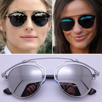 Wholesale Real Silver Coat - Sale SO SURREAL SO REAL 2016 Polarized Sunglasses Women Steampunk Brand Designer Fashion Brand Sunglasses Men Coating Sunglasses With Box