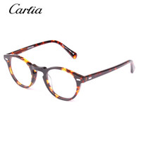 Wholesale Vintage Eyeglass Frames For Women - Vintage optical glasses frame oliver peoples ov5186 eyeglasses Gregory peck ov 5186 eyeglasses for women and men eyewear 47mm myopia frames