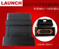 For BMW spanish typing codes - 100 Original LAUNCH X431 GX3 OBDII C Connector c OBD II Adaptor For Tester OBD2 Connecter Obd Obd ii Adopter Types