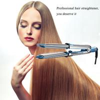 "Wholesale Ionic Blue - Flat Iron Ionic Hair Straightener Na-no Titanium Prima3000 Ionic Straightener, 1.25 Inch,1-1 4"""
