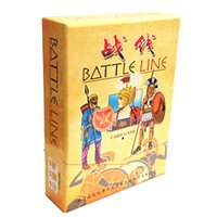 Wholesale Funny Lines - Battle Line Board Game 2 Players To Play English Chinese Version Easy Play and Funny Card Game Send English Instructions