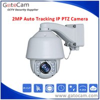 Wholesale Ip Auto Tracking - 20x Zoom 2MP Outdoor Waterproof Auto Tracking IP PTZ Camera SONY CMOS Outdoor Dome120M IR PTZ Camera