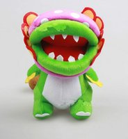 """Wholesale Super Mario Brothers Plush Figures - 2016 new Super Mario Brothers Plush Figure - 8"""" Dino Piranha toy free shipping"""