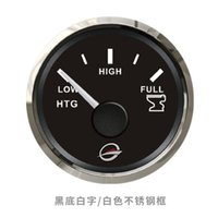 Wholesale Marine Fuel Gauge - Genuine Marine Holding Tank Level Gauge Meter 0-190ohm 52mm 12V 24V With Backlight
