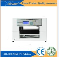 Wholesale Digital Printer Machine - 2016 new product multifunctional UV led inkjet printer machine digital glass printer machine AR Mini 4