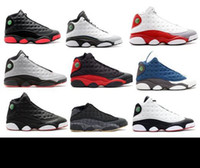 Wholesale quai 54 - DIRTY BRED 13 GREY 13s TOE BARONS RELEASE FLINT 2010 RELEASE LOW Q54 QUAI 54 PLAYOFF 2011 RELEASE INFRARED 23 with box