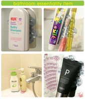 Wholesale Double Sided Suction Sucker - Double Side Suction Magic Sucker for Bathroom Mobile Phone Sticker Stand Holder Vacuum Sucker Bathroom Products