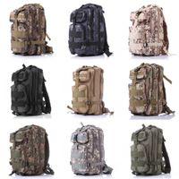 Wholesale Shoulder Straps Military - Free DHL Outdoor Packable 10 Color Military Rucksacks Tactical Backpack 40L 3P Dual Density Closed-Cell Foam Shoulder Straps E593E