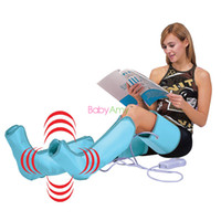 Wholesale Foot Leg Massager - Circulation Leg Wraps Healthcare. Air Compression Leg Wraps Regular Massager Foot Ankles Calf Therapy Circulation lose weight