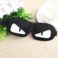Wholesale Korean Sleep Eye - 2017 Hot sell Korean edition cartoon sleep mask of the four seasons universal 3d shading eye mask for both men and women