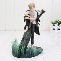 Wholesale Nyanko Model - 7'' 18cm Anime Natsume Yuujinchou with Nyanko Sensei PVC Action Figure Model toy high quality with Box