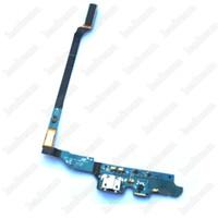 oem elma düğmesi toptan satış-30 ADET OEM Şarj Şarj Dock Port USB Flex Kablo Samsung Galaxy S4 Için M919 i9500 i337 i9505 ücretsiz DHL