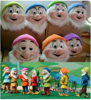 Wholesale Used Mascot Costumes - Xmas Seven dwarfs mascot costumes,7 dwarves mascots costumes for Christmas party use,seven color for you choose
