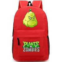 Girls squash bags - Squash backpack Plants vs Zombies school bag PVZ daypack Hot schoolbag New game play day pack