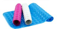 Wholesale Anti Slip Massage Bath Mat - Safety PVC Bathtub Mats Shower Bath MatNon-slip Bath Mats,Anti-Bacterial Massage Bathtub Mats by NTTR(16 W x 29 L Inches)
