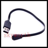 bilek bantlarını zorla toptan satış-27 cm USB Güç Şarj Fitbit Kuvvet Şarj için Şarj Kablosu Kablosu Kablosuz Bileklik Bilezik Siyah