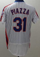 vente en gros 16-17 MENS 31 PIAZZA Maillots de Baseball, discount Pas Cher 33 HARUEY Athletic 18 Fraises 30 CONFORTO Sports Baseball Porter shirT TOPS