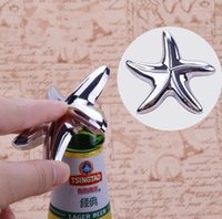 New Starfish Bottle Opener Bridal Shower Wedding Favor Hawaiian Tropical Beach Ocean Theme Party Bag Filler Favores