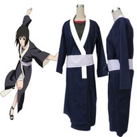 Wholesale Girl S Cloth Set - Anime Ninja Cloth Naruto Rin Cosplay Costume Girl Women Suit Kimono Unisex High Quality Whole Set