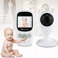 Wholesale Digital Way Talk - 2016 Baby Security Camera Wireless Video Monitor with Night Vision Camera Two-way Talk 2.4 inch Baby Sleep Monitor with Camera