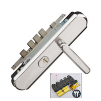 Wholesale Intelligent Fingerprint Lock - Home intelligent remote control lock Electronic security locks Fingerprint lock Card sensitive latch Door lock