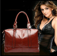 Wholesale Two Way Tote Bags - 2016 OL Commuter Wax oil skin restoring ancient ways Women Totes Women shoulder bag Women Messenger Bags Leather handbag