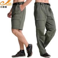 Wholesale Detachable Pants - Wholesale-CHAOTA 806 Men Outdoor Quick-drying Pants men male pants outdoor breathable detachable quick dry hiking pants