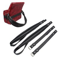Wholesale Accordion Bass Straps - One Pair Adjustable Synthetic Leather Accordion Shoulder Straps for 16-120 Bass Accordions