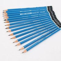 Wholesale Painting Rods - STAEDTLER 16Pcs Drawing Pencil Sketch Blue Rod For Art Painting For Drawing Student 8B 7B 6B 5B 4B 3B 2B B HB F H 2H 3H 4H 5H 6H