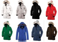 Wholesale Norway Parka Coats - Canada Women down coats Goose Women Expedition Parka Black Sweden Norway women down jacket