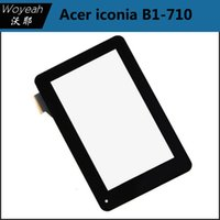 Wholesale Acer Screen Repair - Acer Iconia Tab B1-710 7 Inch Black Touch Screen Panel Digitizer Sensor Glass Repair Replacement Parts