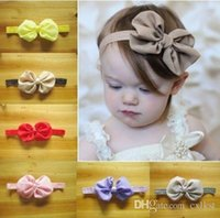 Wholesale Good Quality Hair Accessories - Kids Girls Baby Toddler Headband Hair Bow Band Headwear Accessories Brand New Good Quality Free Shipping