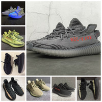 Wholesale Boxing Gym Bag - Double Box + Bags + Receipt Boost 350 Boost V2 Beluga 2.0 Sply-350 Zebra Men Women Running Basketball Shoes Kanye West Boost 350 Size US5-13