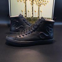Wholesale Italian Ankle Boot - Men Fashion Boots spring and fall Luxury brand mens shoes Italian designer Style casual boots model 184062781