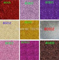pó de pó de cor venda por atacado-Atacado-Atacado 100 grama Bulk Packs Ultra Ultra Fina Glitter Poeira Pó Nail Art Tips Artesanato Decoração Color Choice