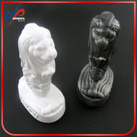 Wholesale Resin 3d Fridge Magnets - Merlion Park, Singapore Tourist Travel Souvenir 3D Resin Fridge Magnet metal Craft keychain ker ring holder