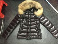 Wholesale Ladies Hooded Fur Coats - M95 parkas for women winter jacket Winter Coat Ladies anorak women coats with real raccoon fur jackets