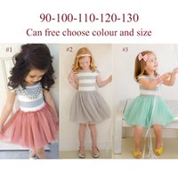 Wholesale Arrival Childrens - New Arrival Girls Wedding Flower Dresses Childrens White Organza Dresses Kids Party Clothes Lace Net Baby Girl Birthday Party